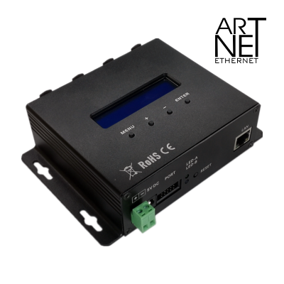 ARTNET-DMX4 Bidirection Ethernet Light Control